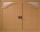 Bob Timberlake Carriage Style Garage Door