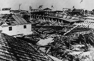 1935 Labor Day Hurricane Damage