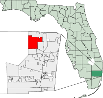 Coral Springs Florida Map Location