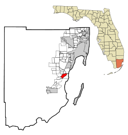 Cutler Bay Florida Map