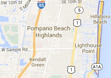 Hillsboro Beach Florida Map