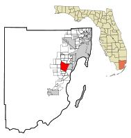 Kendall Florida Map