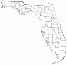 Key Largo Florida Map