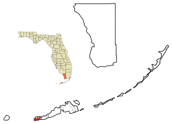 Key West Florida Map
