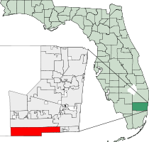 Miramar Florida Map