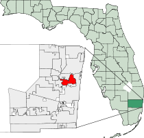 Oakland Park Florida Map