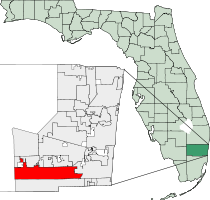 Pembroke Pines Florida Map