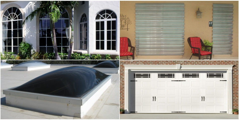 Impact Windows, Hurricane Shutters, Garage Doors