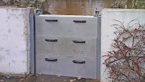 Layton FEMA Flood Control Door Barrier