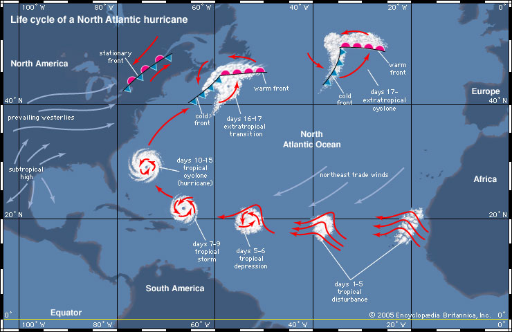 Hurricane Life Cycle