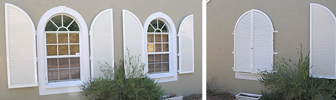 Colonial Hurricane Shutters