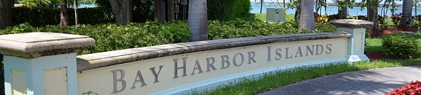 Bay Harbor Islands Florida Header