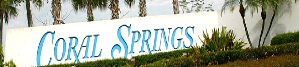 Coral Springs Florida Header