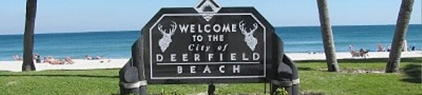 Deerfield Beach Florida Header
