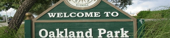 Oakland Park Florida Header