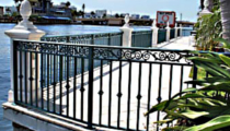 Key West FL Aluminum Fence Railing