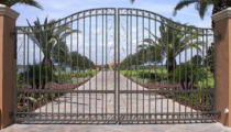 Indian Creek FL Automatic Aluminum Gates