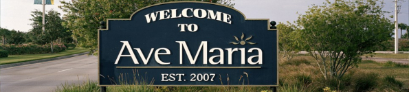 Ave Maria Florida Header