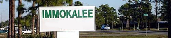 Immokalee Florida Header